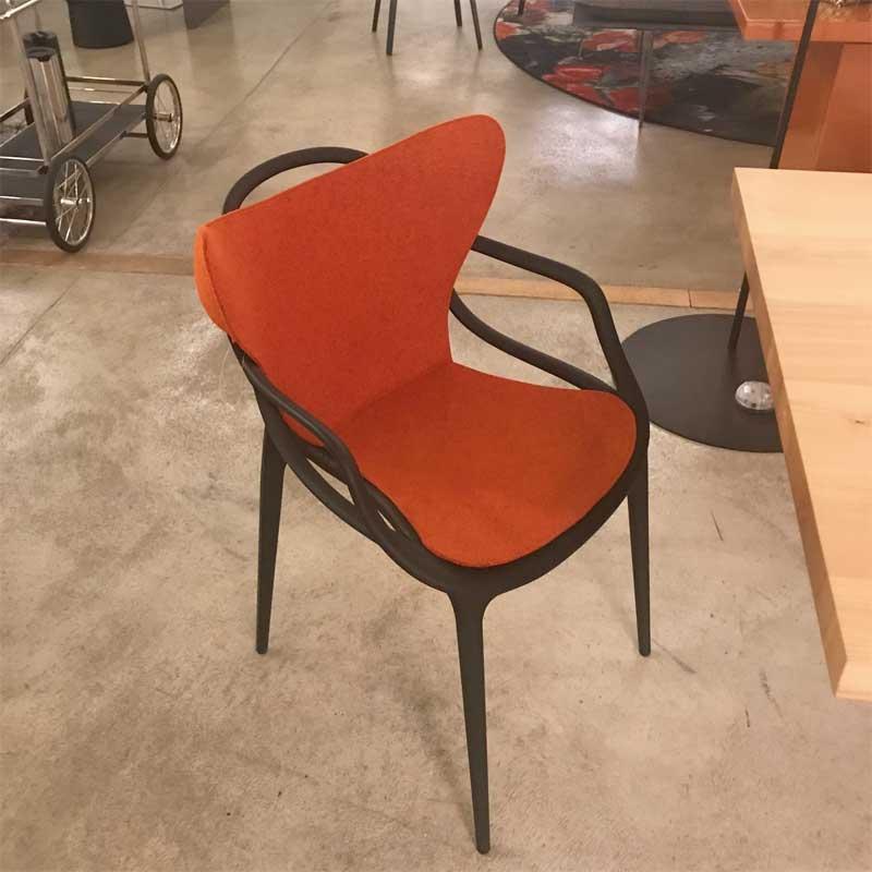 designwebstore | Masters Stuhl Sitzpolster Sitzauflage orange | Arne Jacobsen Form