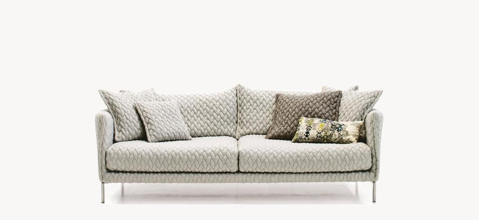 Designwebstore Gentry Sofa 2er Sofa Stahl Verchromt
