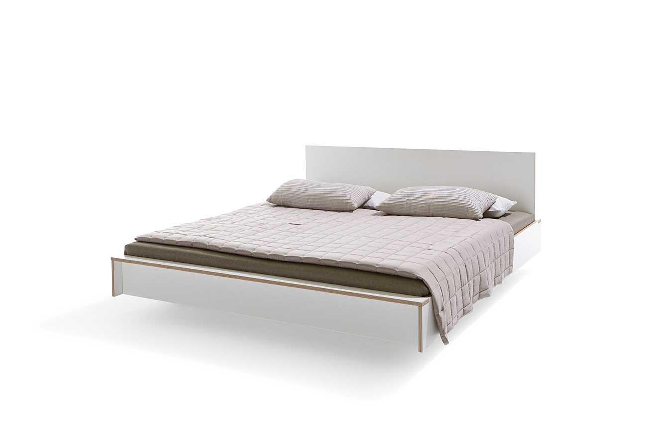 designwebstore flai bett aktion weiss 90 x 200 cm ohne ohne ohne ohne. Black Bedroom Furniture Sets. Home Design Ideas