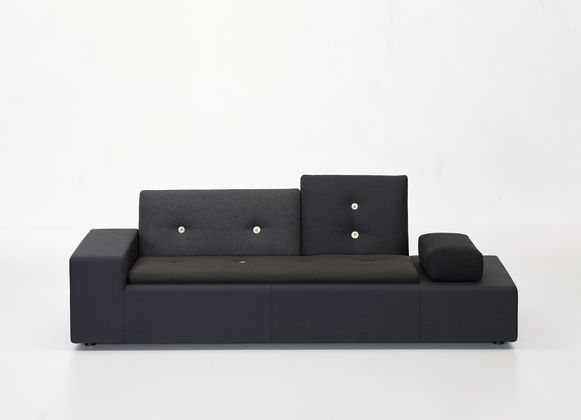 designwebstore   Polder Sofa SOFA XS   anthrazit   rechts