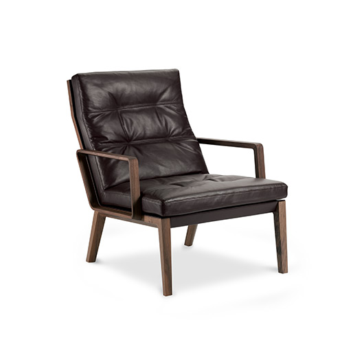 Designwebstore Andoo Lounge Sessel Ohne Armlehnen Eiche Filz