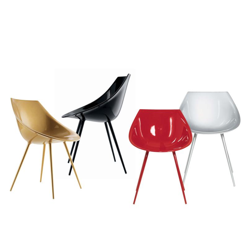 Lago` Stühle Driade Farbe: taupe